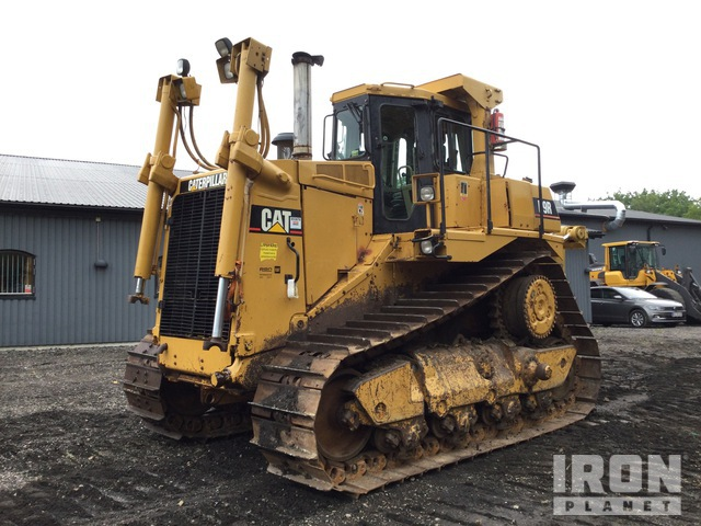 1995 Cat D9R Crawler Dozer, Crawler Tractor