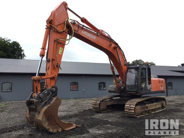 2008 Hitachi ZX350LC-3 Track Excavator, Hydraulic Excavator