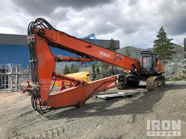 2011 Hitachi ZX520LCH-3 Demolition Excavator, Hydraulic Excavator