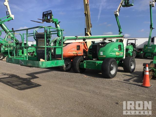 2014 JLG 600A 4WD Diesel Articulating Boom Lift, Boom Lift