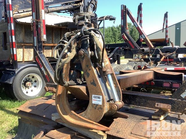 Hood 182 Log Loader Jib Boom w/ Heel & Grapple, Logging Equipment - Other