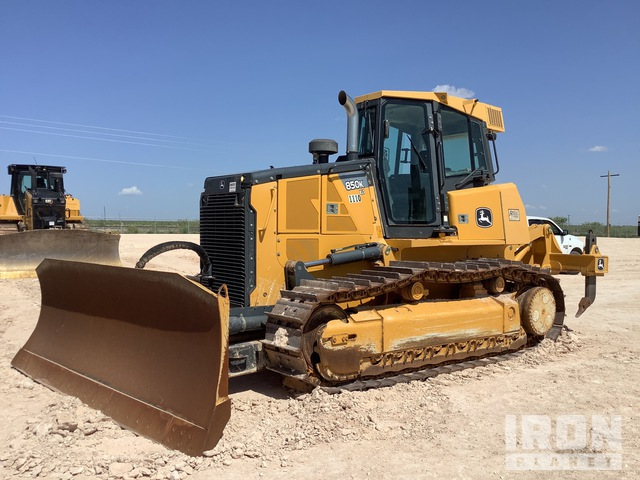 2014 John Deere 850K Crawler Dozer, Crawler Tractor