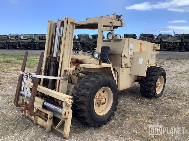 Case M4K Rough Terrain Forklift, Rough Terrain Forklift