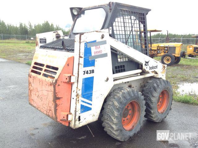 Surplus Bobcat 743b Skid Steer Loader In Wasilla Alaska United