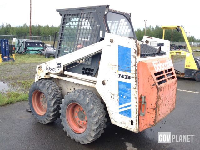 Surplus Bobcat 743B Skid-Steer Loader in Wasilla, Alaska