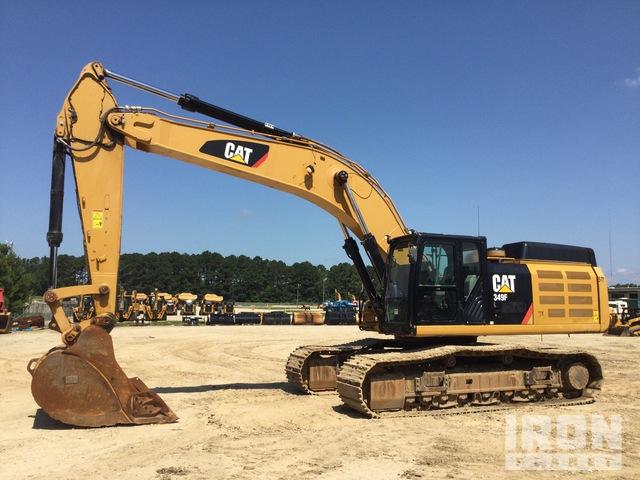 2017 Cat 349F L Track Excavator, Hydraulic Excavator