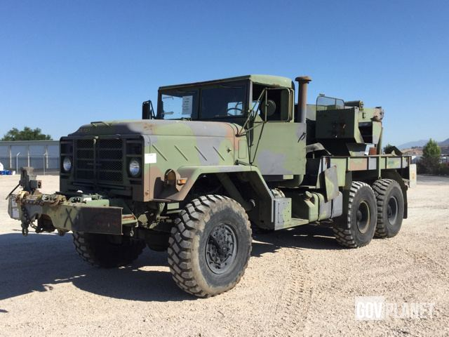 Surplus 1990 BMY M936A2 6x6 Wrecker in Hill Air Force Base