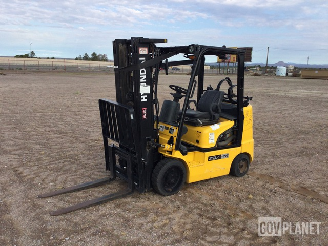 Hyundai 25LC-7A Cushion Tire Forklift, Forklift