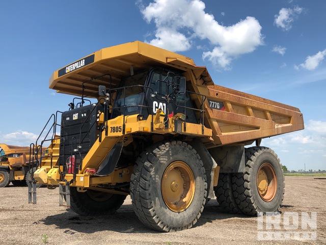2012 Cat 777G Off-Road End Dump Truck, Rock Truck