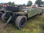 Systems and Electronics M989A1 Ammunition Trailer