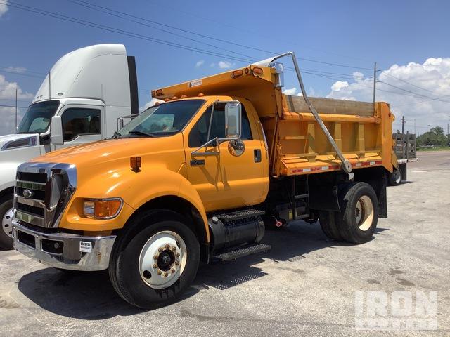 2008 Ford F-750 Super Duty 4x2 S/A Dump Truck, Dump Truck (S/A)