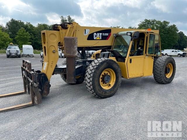 2007 Cat TL1255 Telehandler, Telescopic Forklift