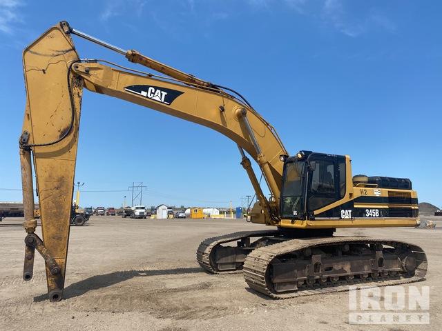 CAT 345B L Track Excavator, Hydraulic Excavator