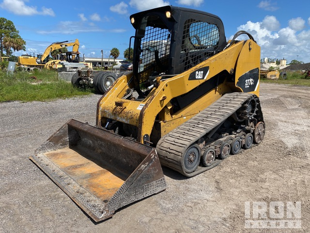 2013 Cat 277C2 Two-Speed Compact Track Loader, Compact Track Loader