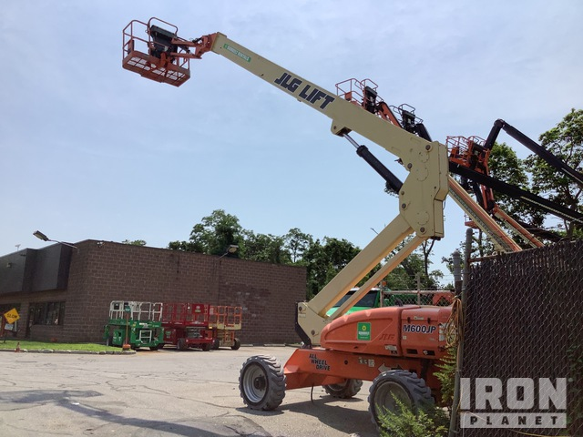 2011 JLG M600JP 4WD Diesel Articulating Boom Lift, Parts/Stationary Construction-Other