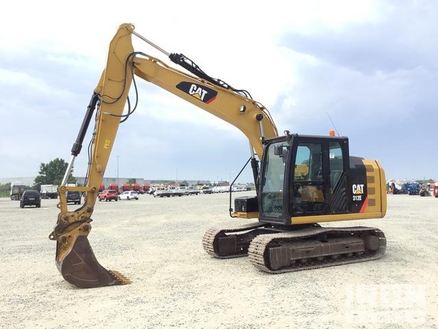 2015 Cat 312E Track Excavator, Hydraulic Excavator