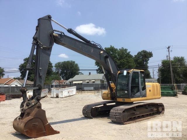 2008 John Deere 200D LC Track Excavator, Hydraulic Excavator