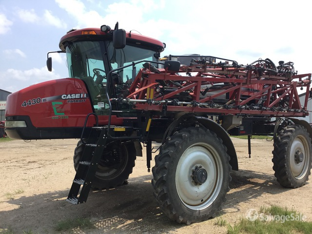 2012 (unverified) Case IH Patriot 4430 120 ft 4x4 Self Propelled Sprayer, Parts/Stationary Construction-Other