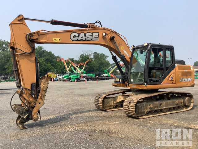 2015 Case CX160C Track Excavator, Hydraulic Excavator