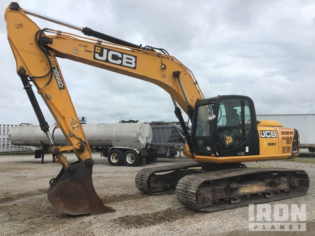 2015 (unverified) JCB JS220LC Track Excavator, Hydraulic Excavator