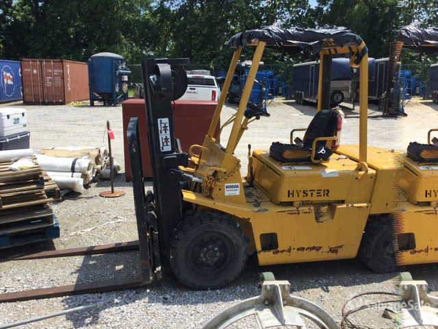 1989 Hyster H40-XL-MIL 4000 lb Pneumatic Tire Forklift, Parts/Stationary Construction-Other
