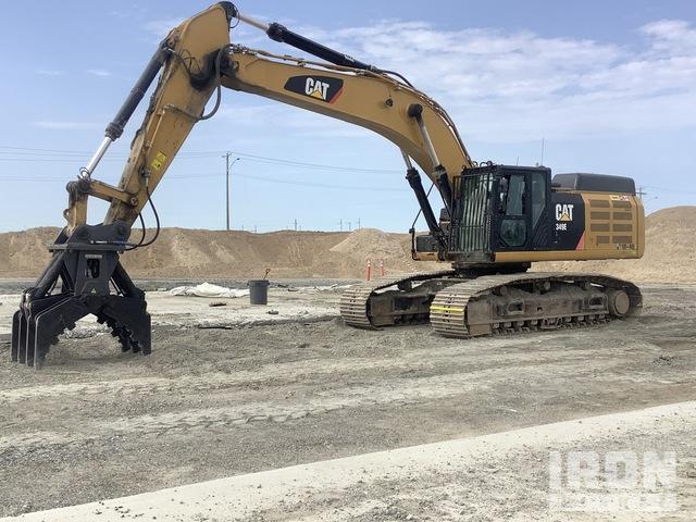 2014 Cat 349 ELVG Track Excavator, Hydraulic Excavator