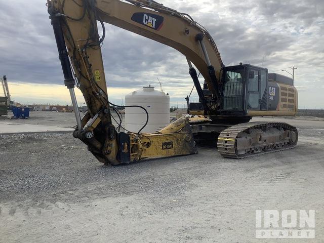 2013 Cat 349EL Track Excavator, Hydraulic Excavator