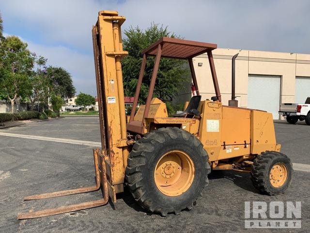 1994 Case 586E 6000 lb 4x4 Rough Terrain Forklift, Rough Terrain Forklift