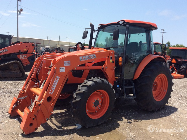 2015 (unverified) Kubota M5-111D 4WD Tractor, Parts/Stationary Construction-Other