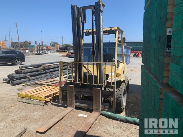 2001 Hyster H90XMS Pneumatic Tire Forklift, Parts/Stationary Construction-Other