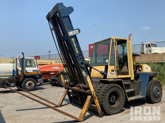 2000 (unverified) Hyster H165XL 14300 lb Pneumatic Tire Forklift, Parts/Stationary Construction-Other