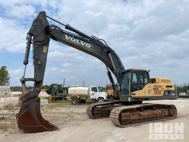 2012 Volvo EC380DL Track Excavator, Hydraulic Excavator