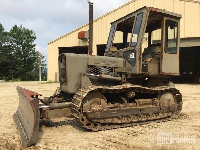 John Deere 450CC Crawler Dozer, Crawler Tractor
