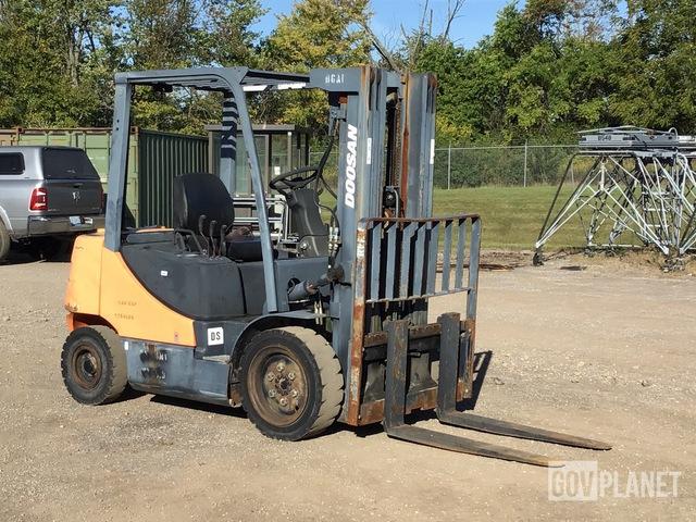Doosan D30S-5 Cushion Tire Forklift, Forklift