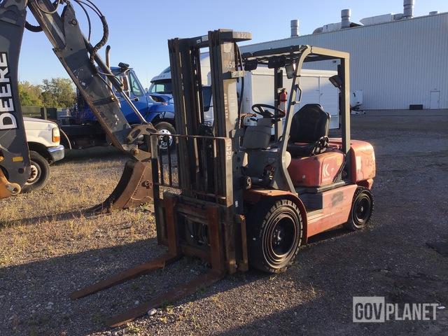 Kalmar P60BXDPS Cushion Tire Forklift, Forklift