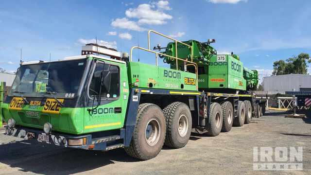 2006 Grove GMK6300 300 ton 12x6x12 All Terrain Crane, All Terrain Crane