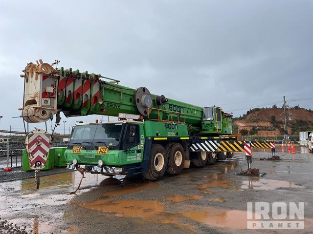 2008 Grove GMK 6220L 220 ton 12x6x12 All Terrain Crane, All Terrain Crane