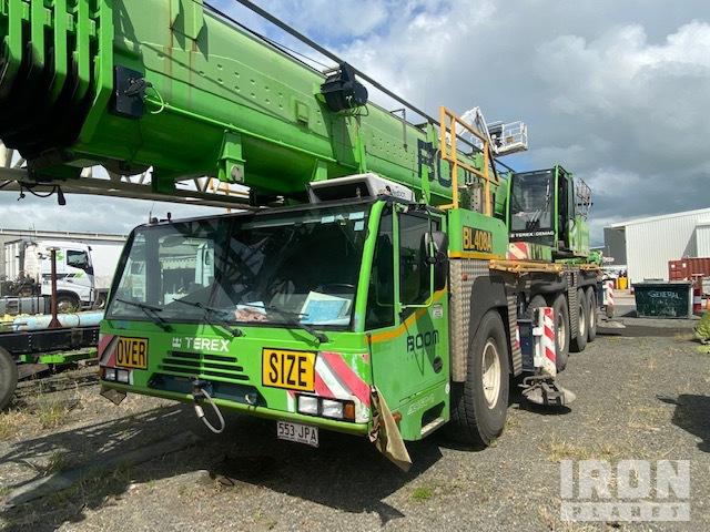 2006 Terex-Demag AC160-2 160 ton 10x8x8 All Terrain Crane, All Terrain Crane