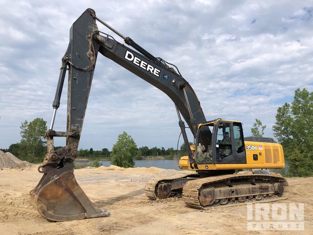 2006 John Deere 350D LC Track Excavator, Hydraulic Excavator