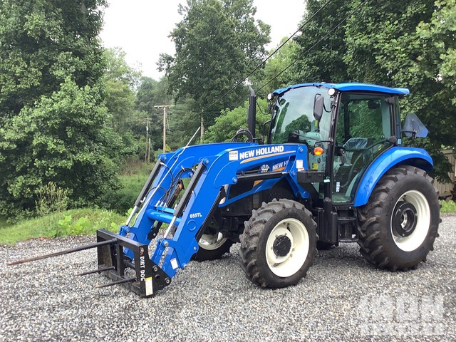 2019 New Holland Powerstar 75 4WD Tractor, MFWD Tractor