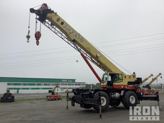 1999 Link-Belt 65 ton 4x4 Rough Terrain Crane, Rough Terrain Crane
