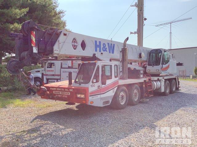 1996 Link-Belt HTC8670 121300 lb 8x4 Hydraulic Truck Crane, Hydraulic Truck Crane