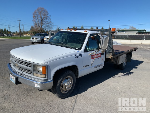 1994 Chevrolet C3500 4x2 Flatbed Truck, Flatbed Truck
