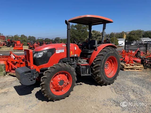 Kubota M7060D 4WD Farm Tractor, MFWD Tractor