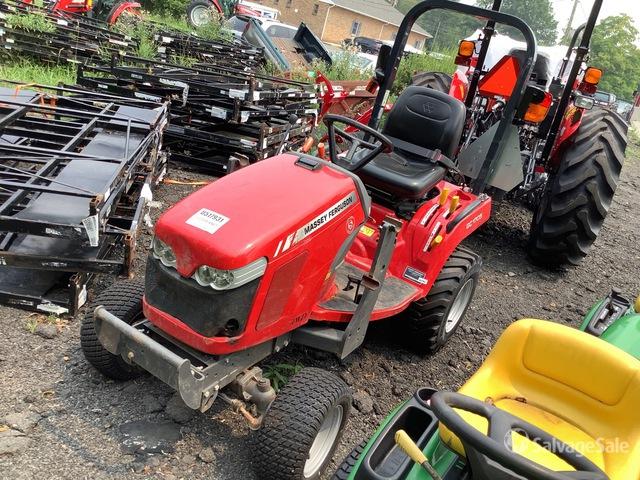 2017 (unverified) Massey Ferguson GC1705 4WD Utility Tractor, Utility Tractor