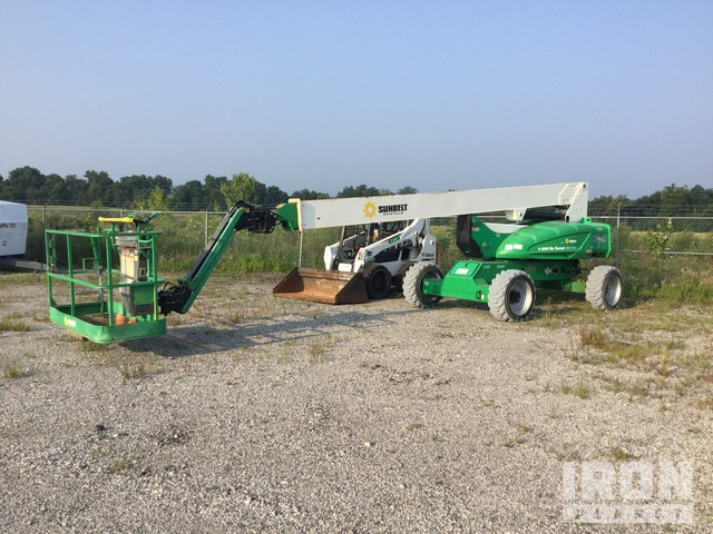 2014 JLG M600JP 2WD Diesel Articulating Boom Lift, Parts/Stationary Construction-Other