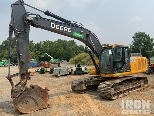 2015 John Deere 210G LC Track Excavator, Hydraulic Excavator
