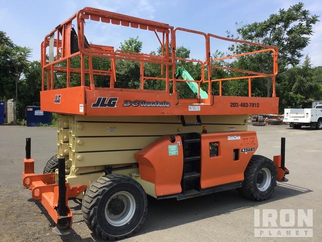 JLG 4394RT 4WD Diesel Scissor Lift, Scissorlift