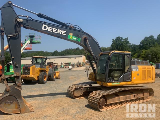 2015 John Deere 210GLC Track Excavator, Hydraulic Excavator