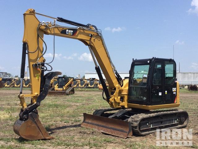 2017 Cat 308E2 CR Mini Excavator, Mini Excavator (1 - 4.9 Tons)